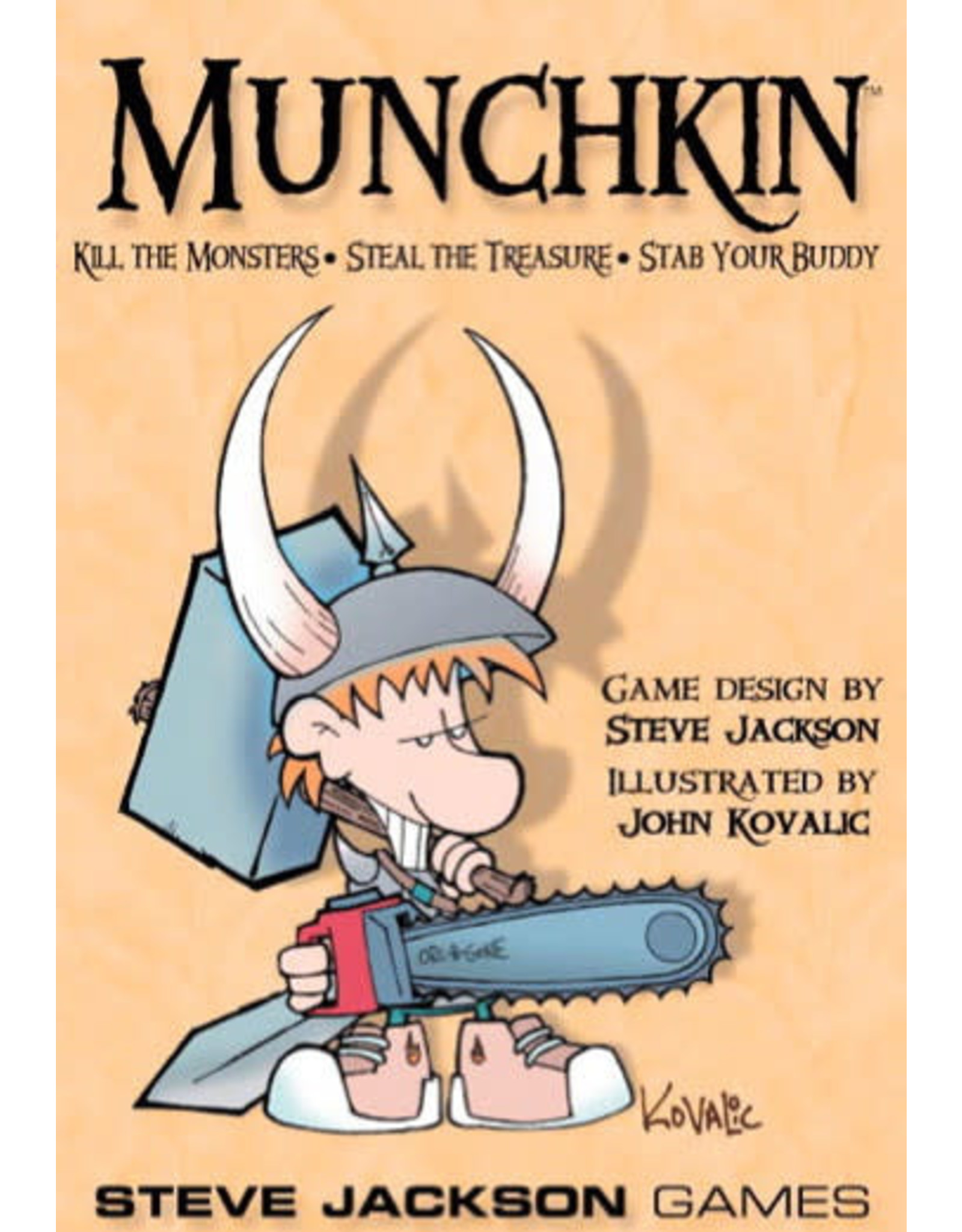 Steve Jackson Games Munchkin (Revised Edition)