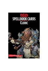 Gale Force 9 D&D Spellbook Cards: Cleric Deck
