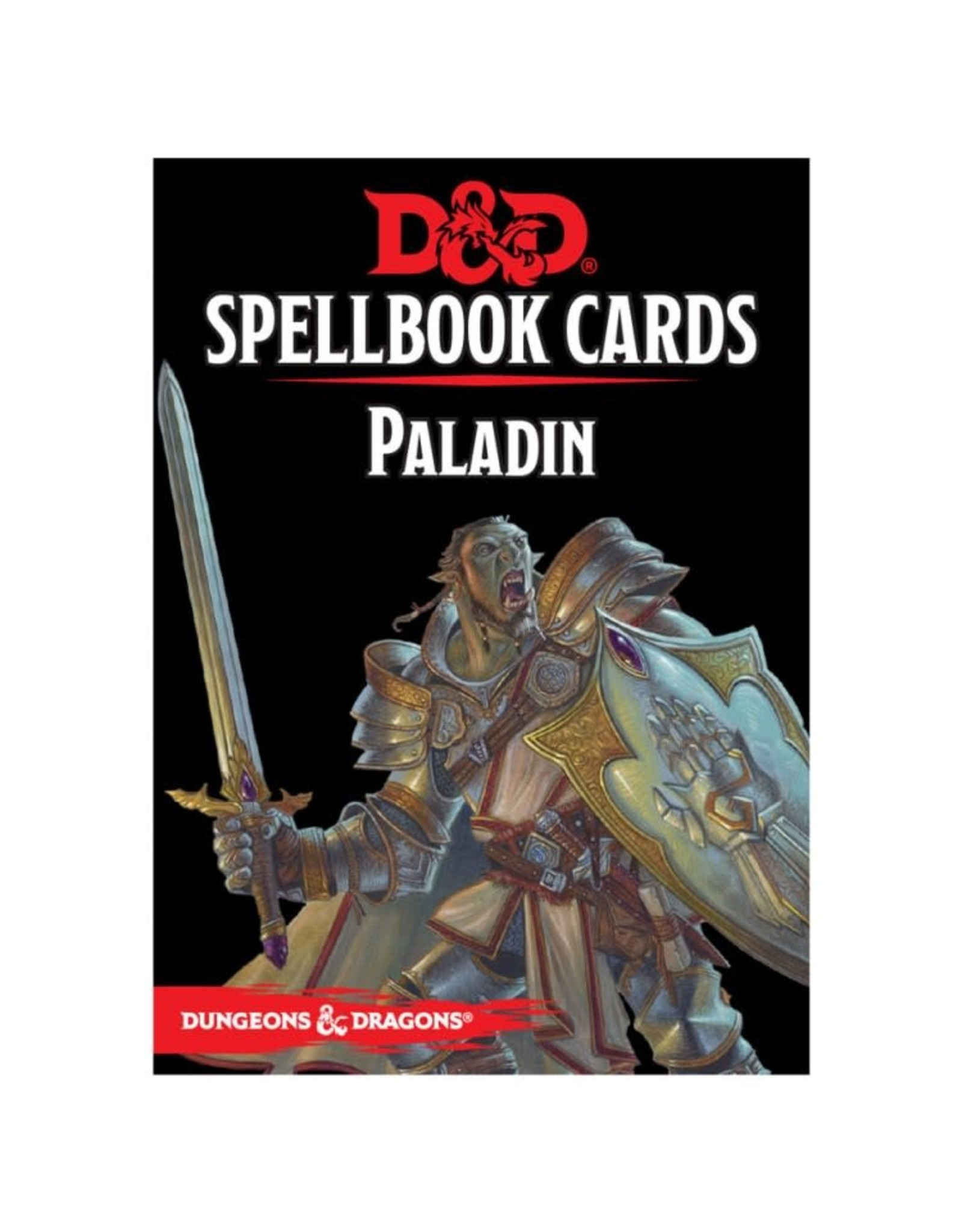 Gale Force 9 D&D Spellbook Cards: Paladin Deck