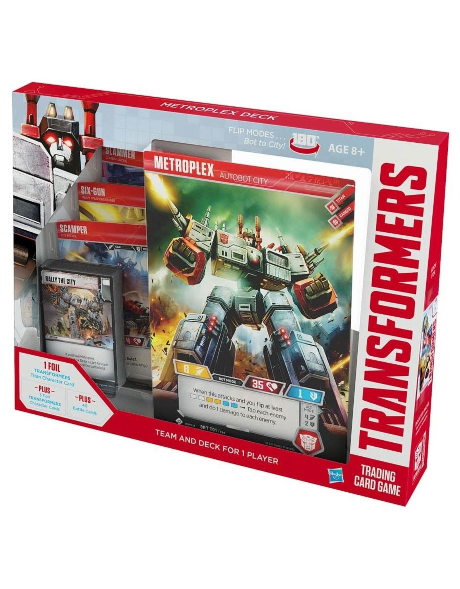 Wizards of the Coast Transformers TCG: Metroplex Deck