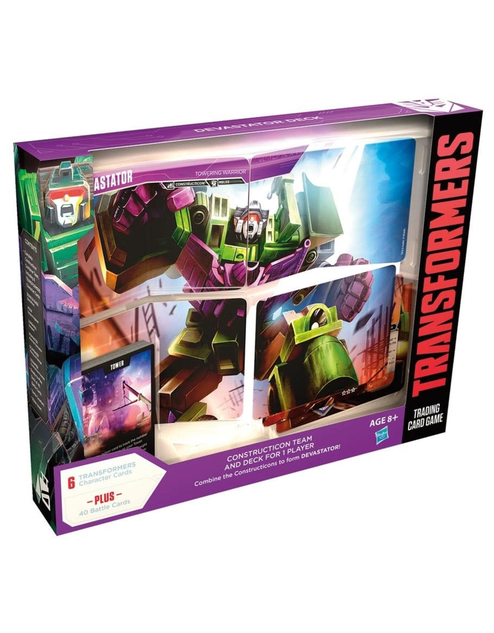 Wizards of the Coast Transformers TCG: Devastator Deck