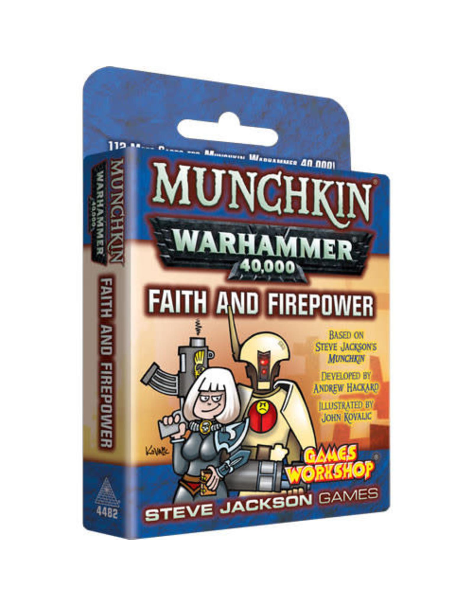 Steve Jackson Games Munchkin: Munchkin Warhammer 40K - Faith and Firepower Expansion