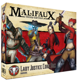Wyrd Games Lady Justice Core Box: Marshal