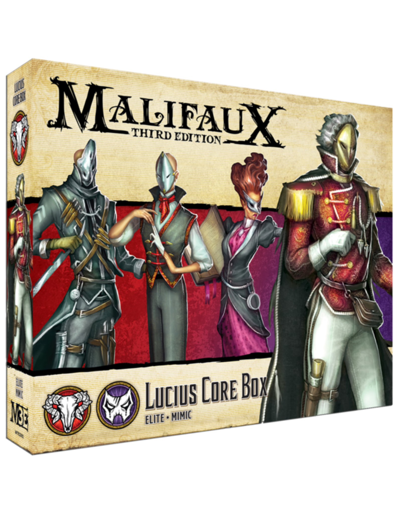 Wyrd Miniatures Lucius Core Box: Elite/Mimic