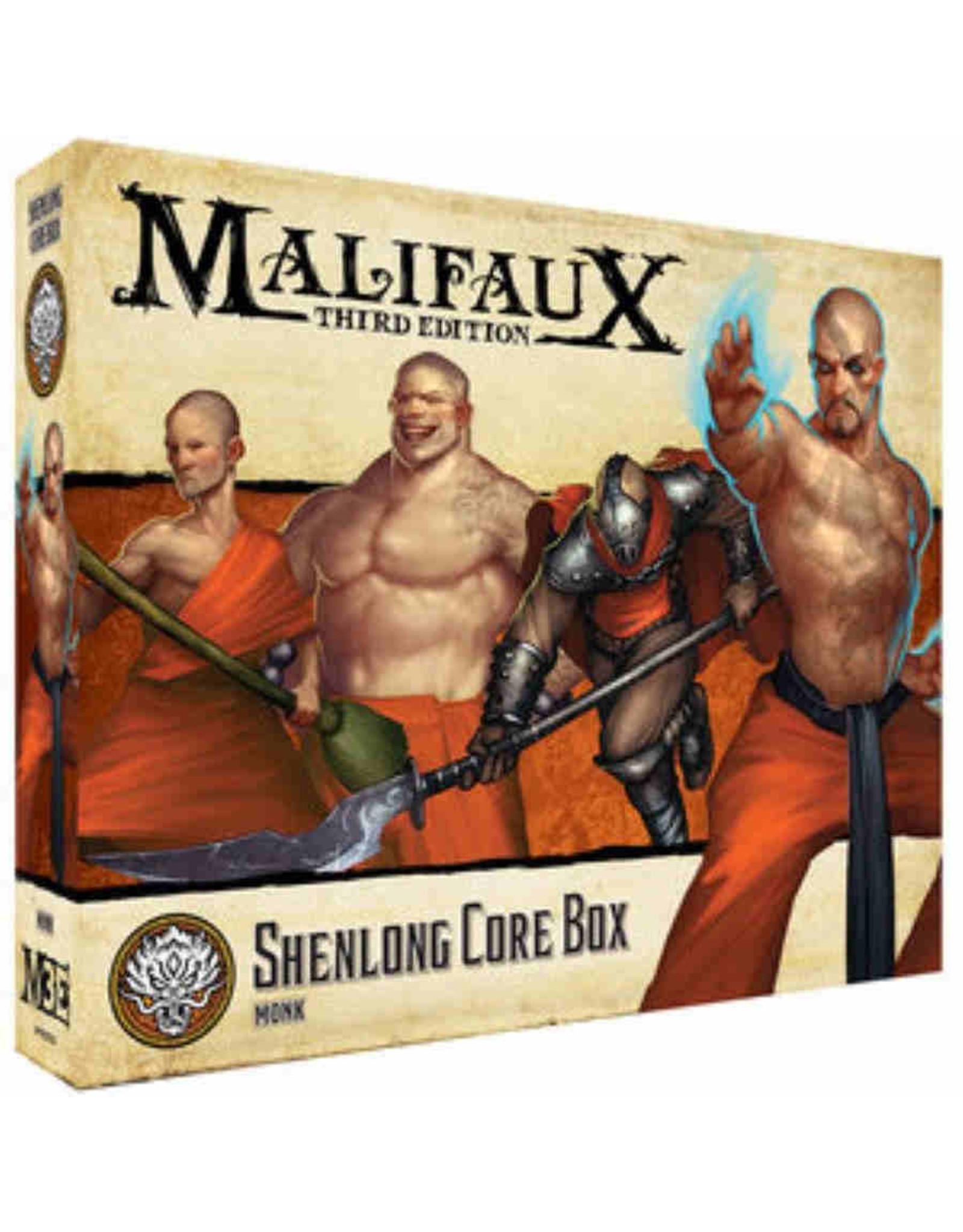 Wyrd Games Shenlong Core Box: Monk