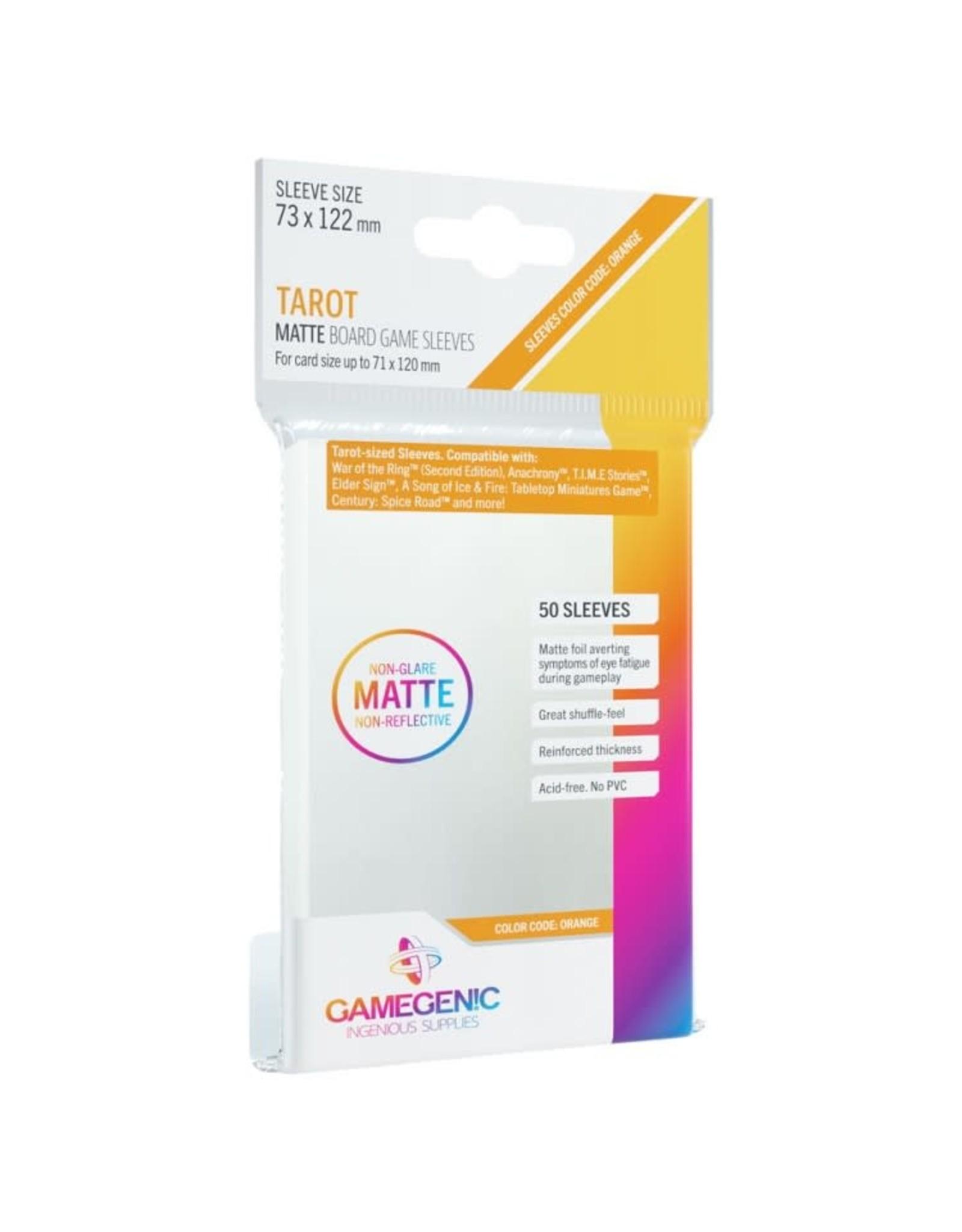 GameGenic DP: Matte: Tarot Orange (50)