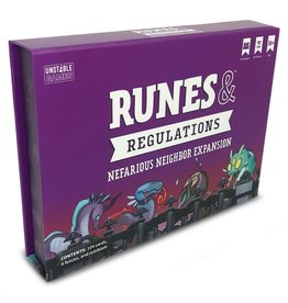 Teeturtle Runes & Regulations: Nefarious Neighbors