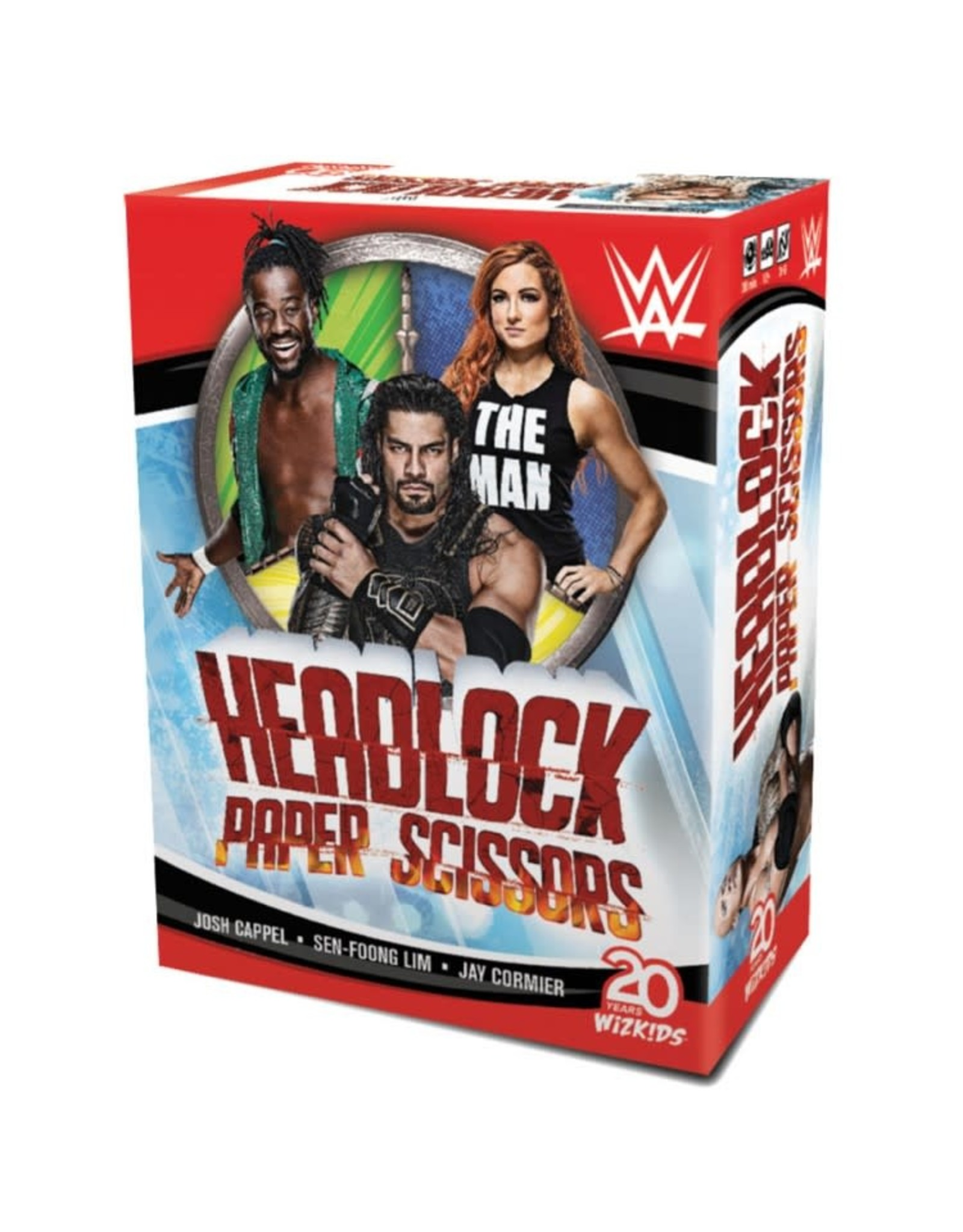 WizKids WWE: Headlock, Paper, Scissors