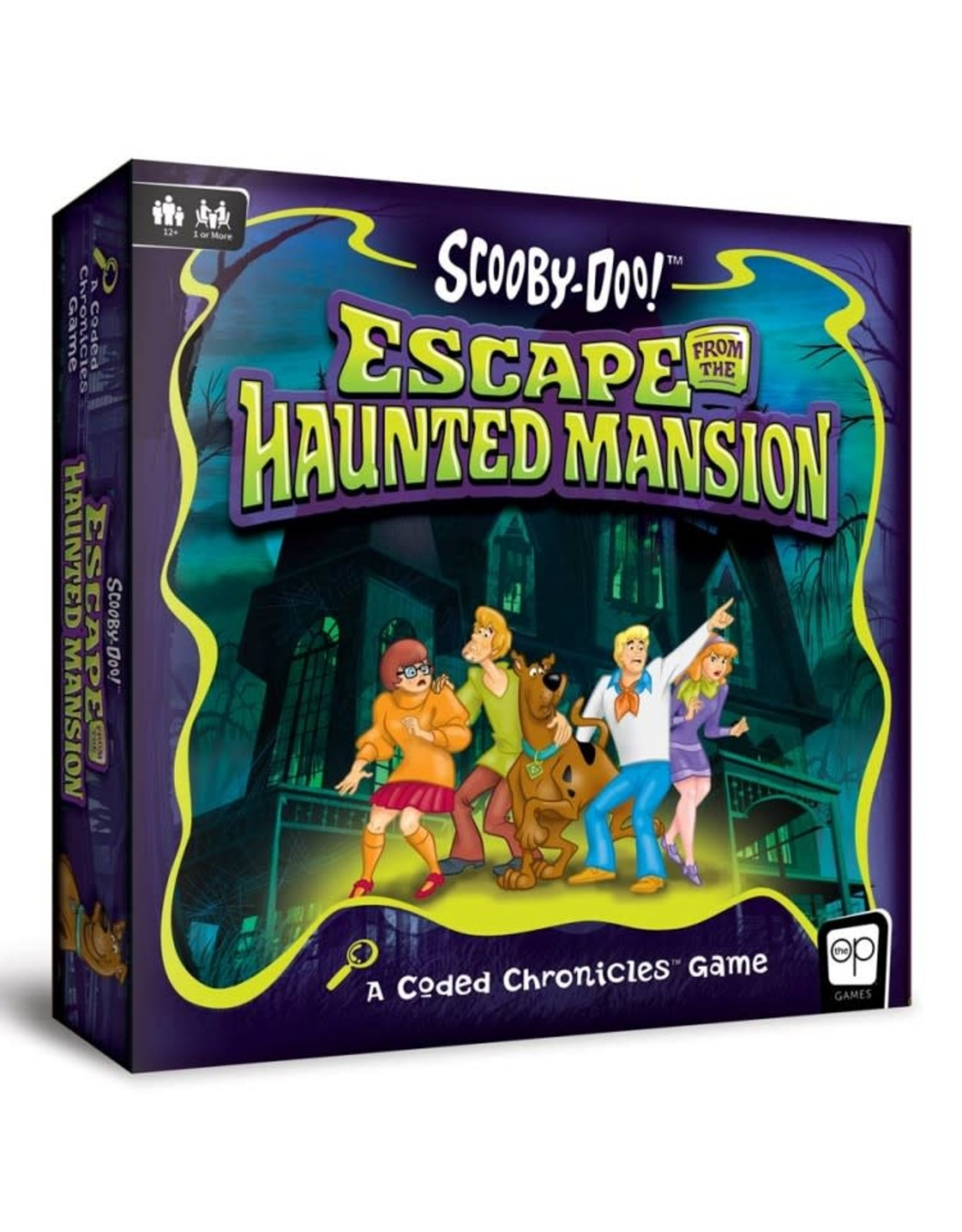 USAopoly Scooby-Doo: Escape from Haunted Mansion