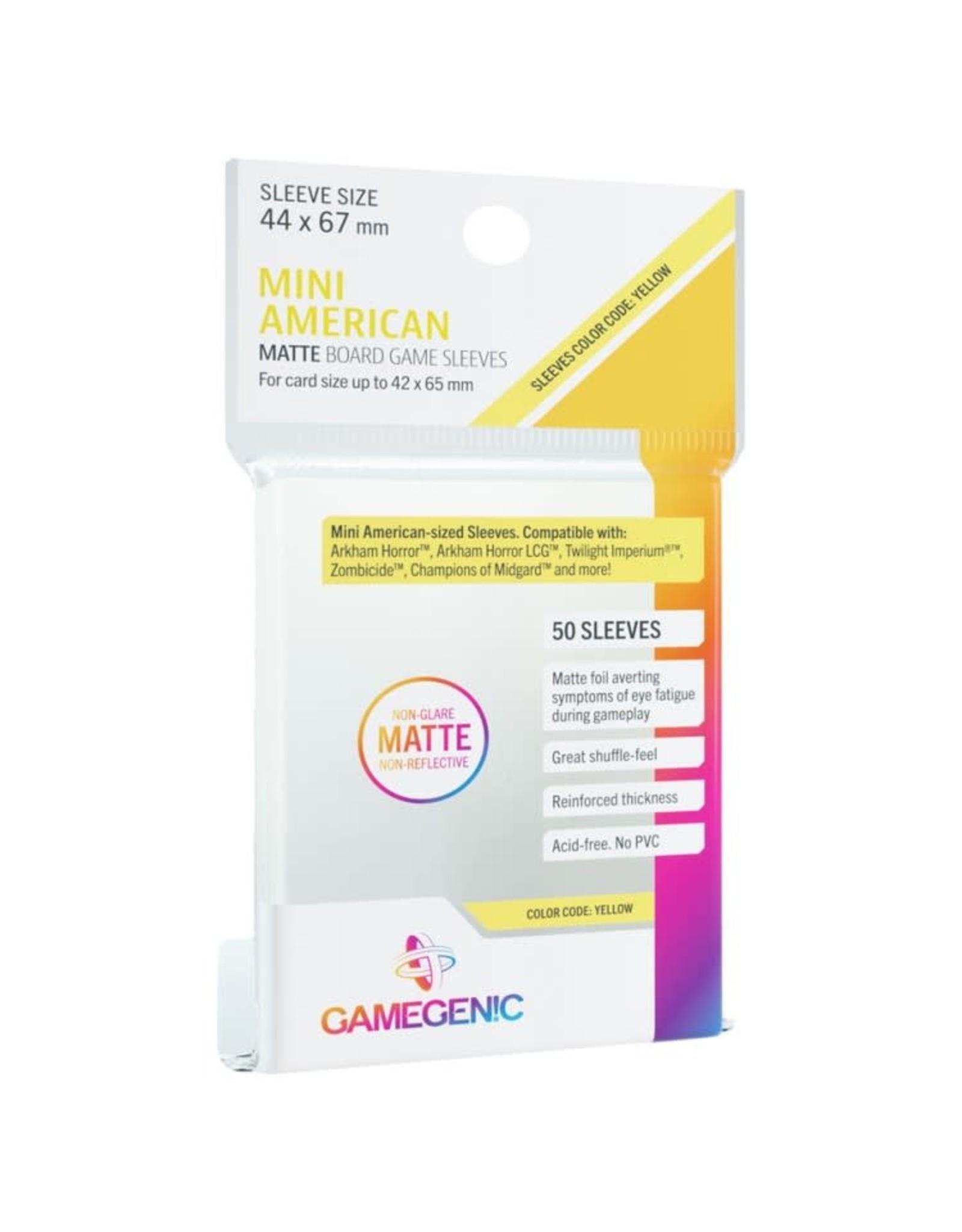 GameGenic DP: Matte: Mini American Yellow (50)