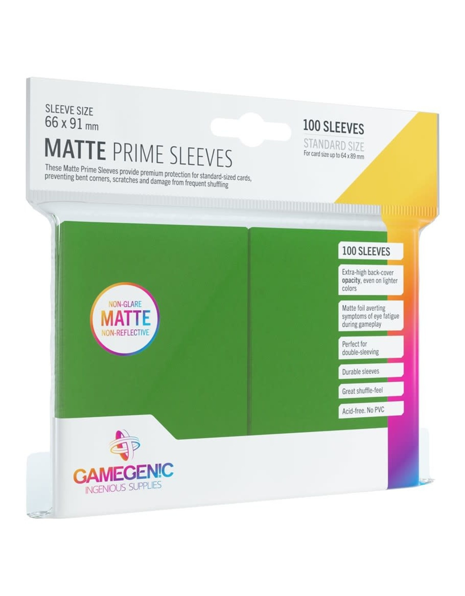 GameGenic DP: Matte Prime: GR (100)