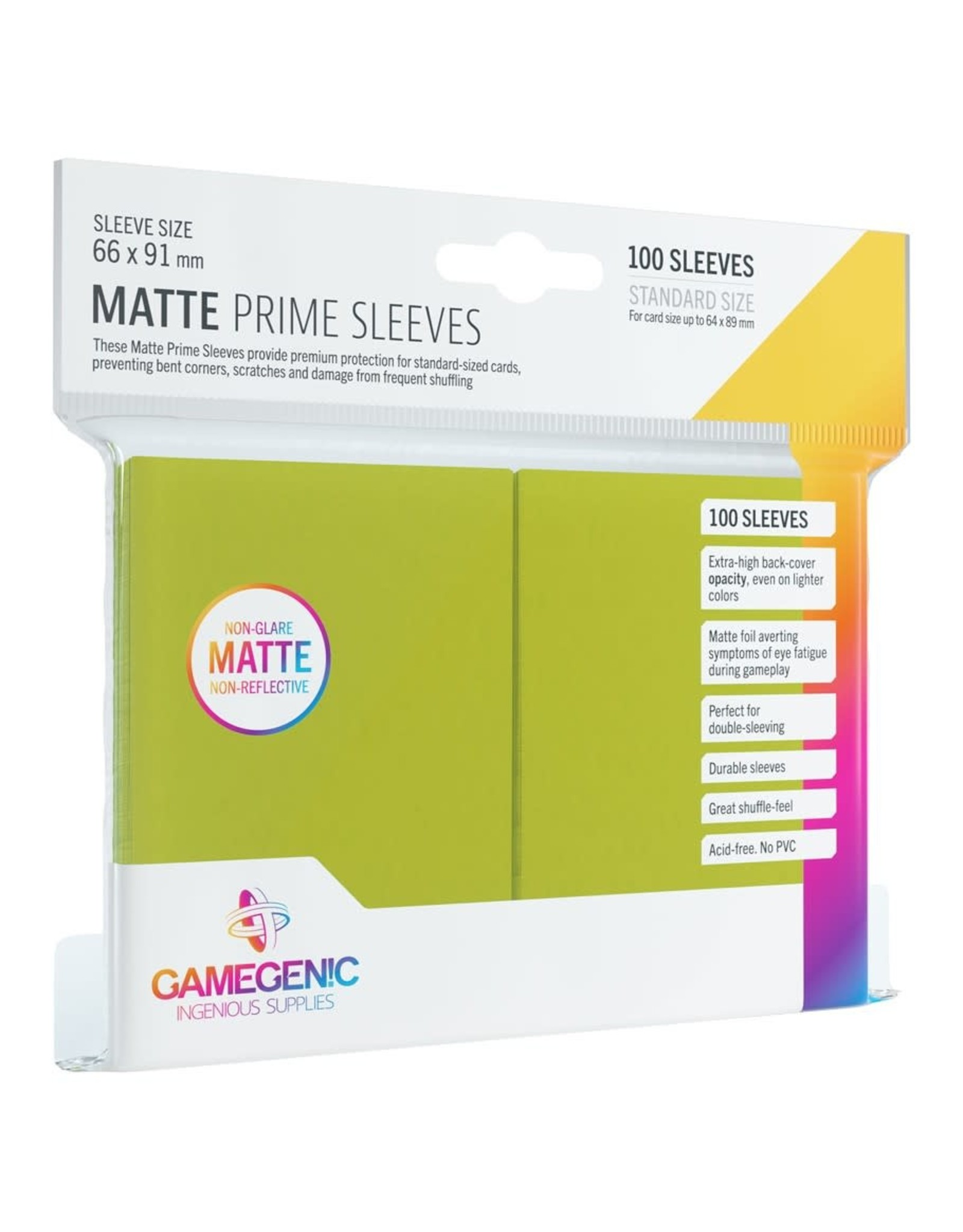 GameGenic DP: Matte Prime: Lime (100)