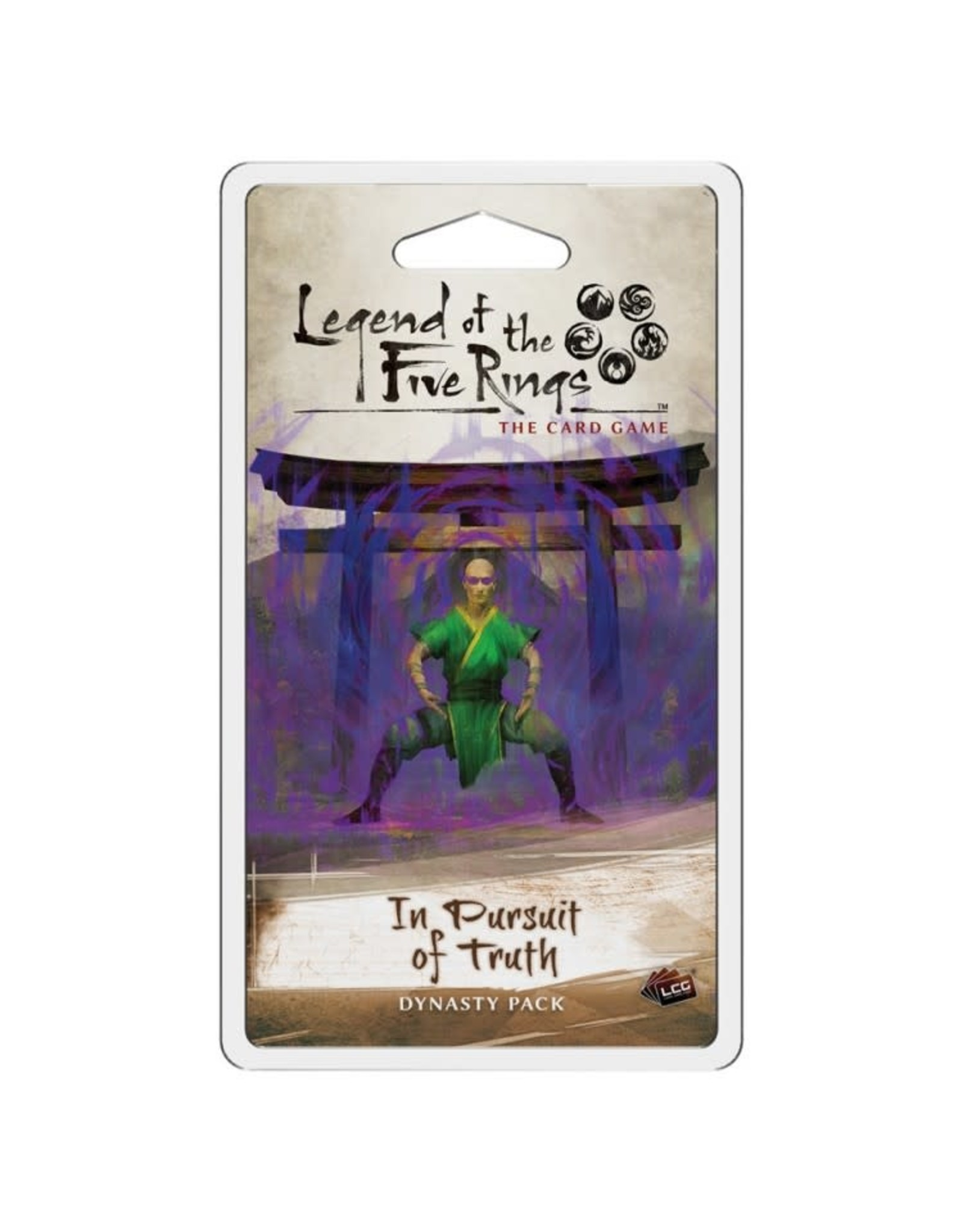 Fantasy Flight Games L5R LCG: In Pursuit of Truth Dynasty Pack