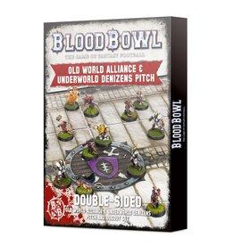 Games Workshop Blood Bowl: Old World + Underworld Pitch