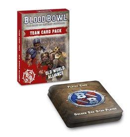 Games Workshop Blood Bowl: Old World Alliance Team Card Pack