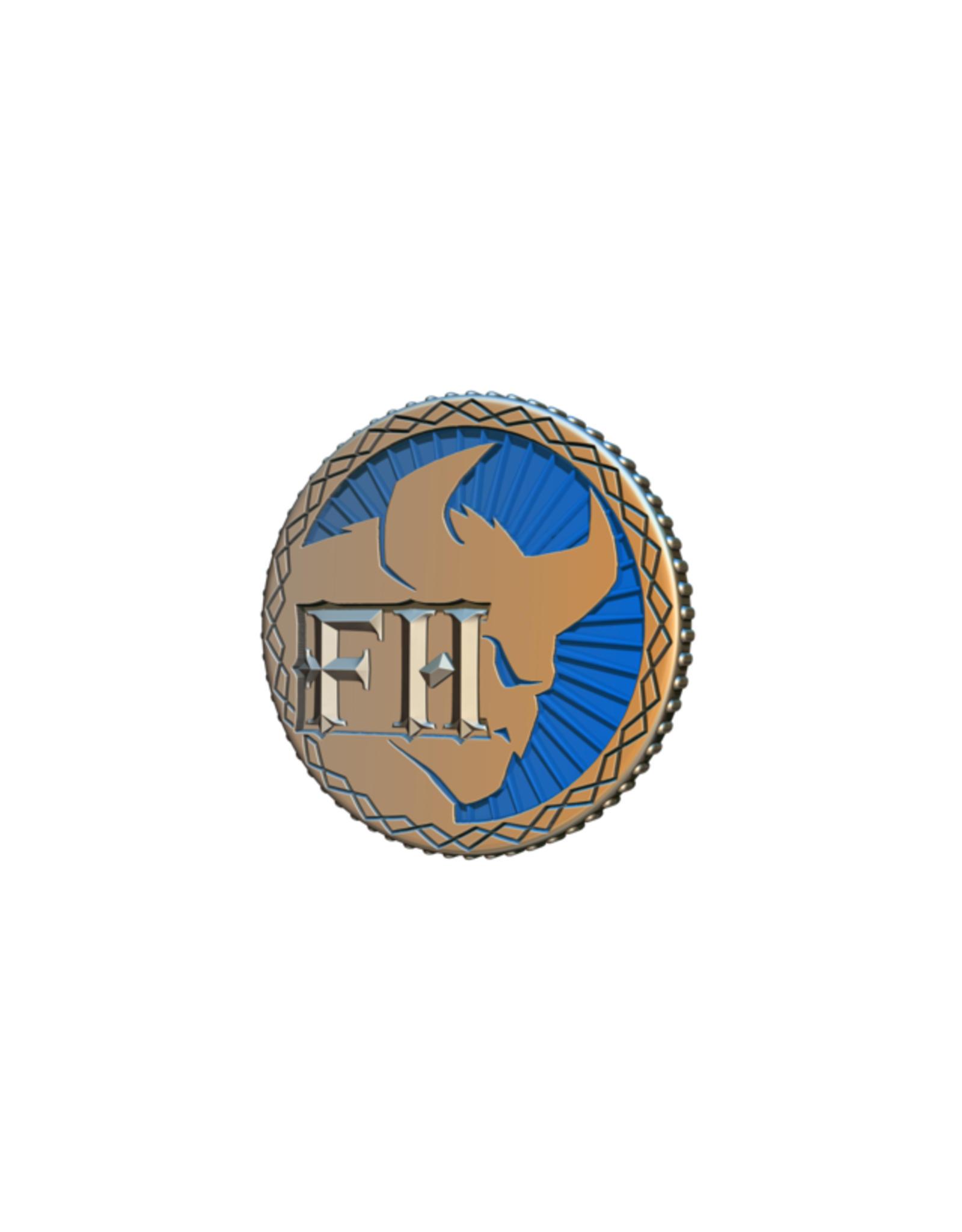 Cephalofair Games Frosthaven Challenge Coin