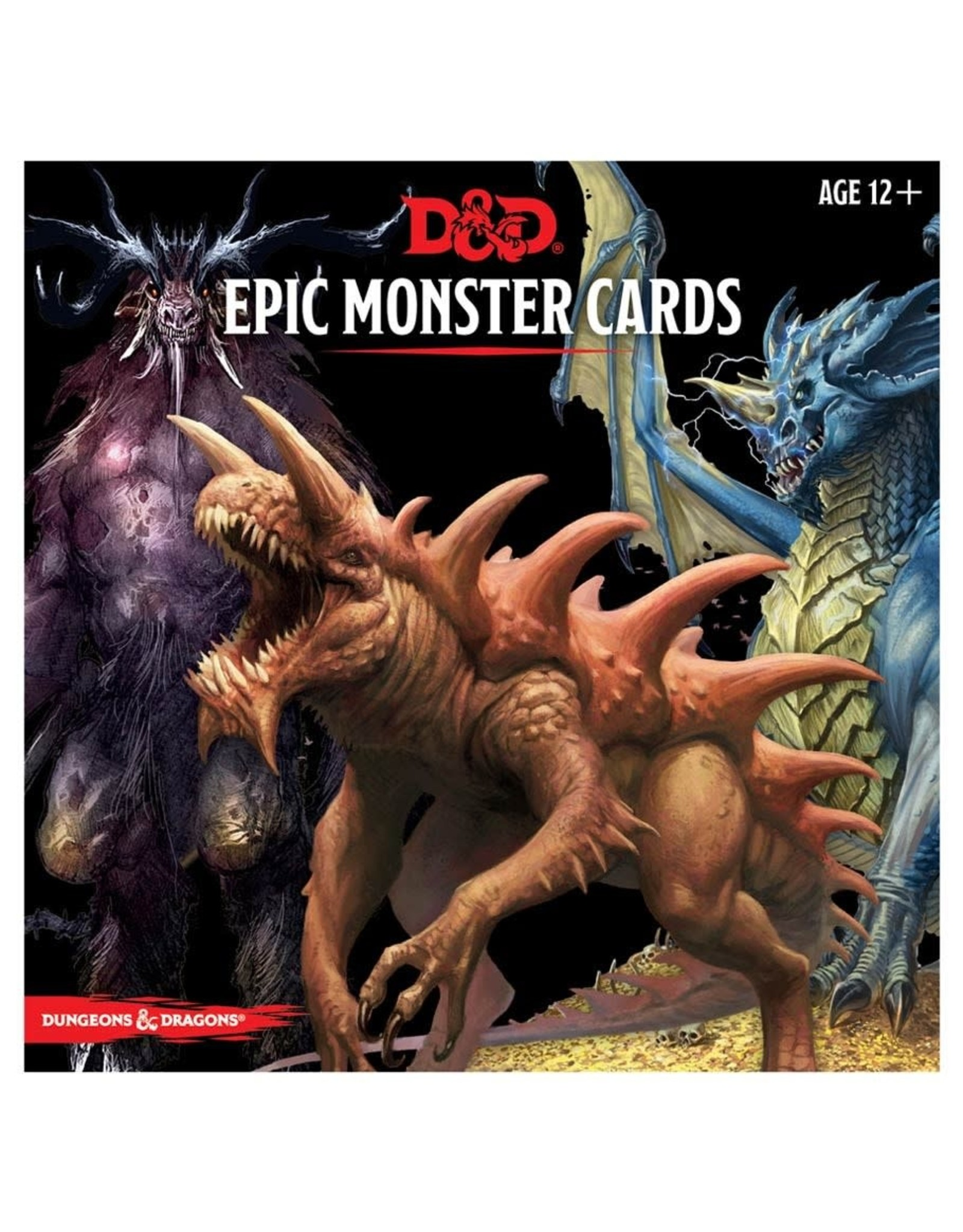Gale Force 9 D&D Monster Cards: Epic Monsters