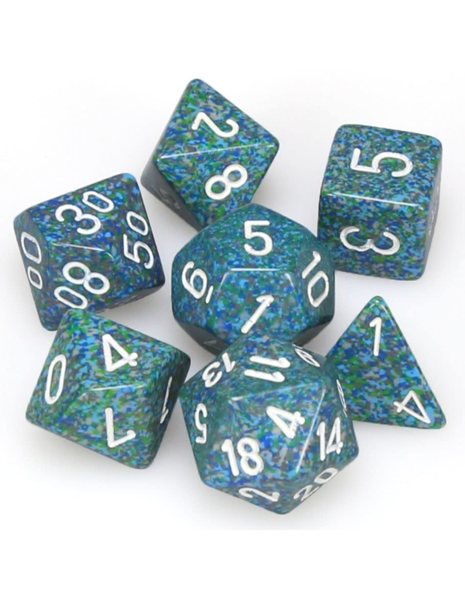 Chessex 7-setCubeSP Sea