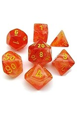 Chessex 7-setCube Ghostly Glow ORye (7)
