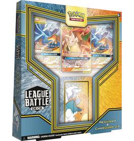 The Pokemon Company POKEMON RESHIRAM CHARIZARD GX LEAGUE BATTLE DECK