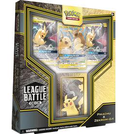 The Pokemon Company POKEMON PIKACHU ZEKROM GX LEAGUE BATTLE DECK