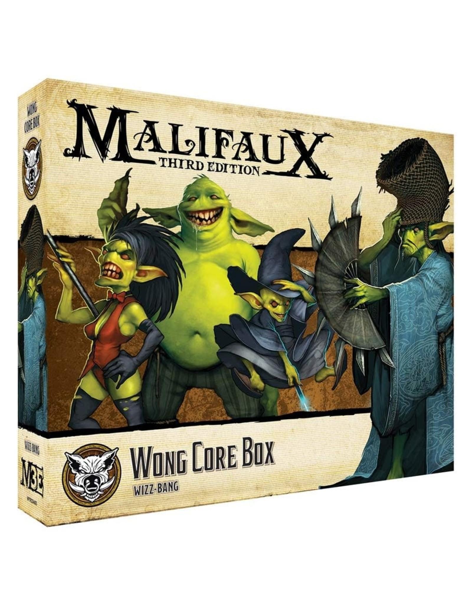 Wyrd Games Bayou: Wong Core Box