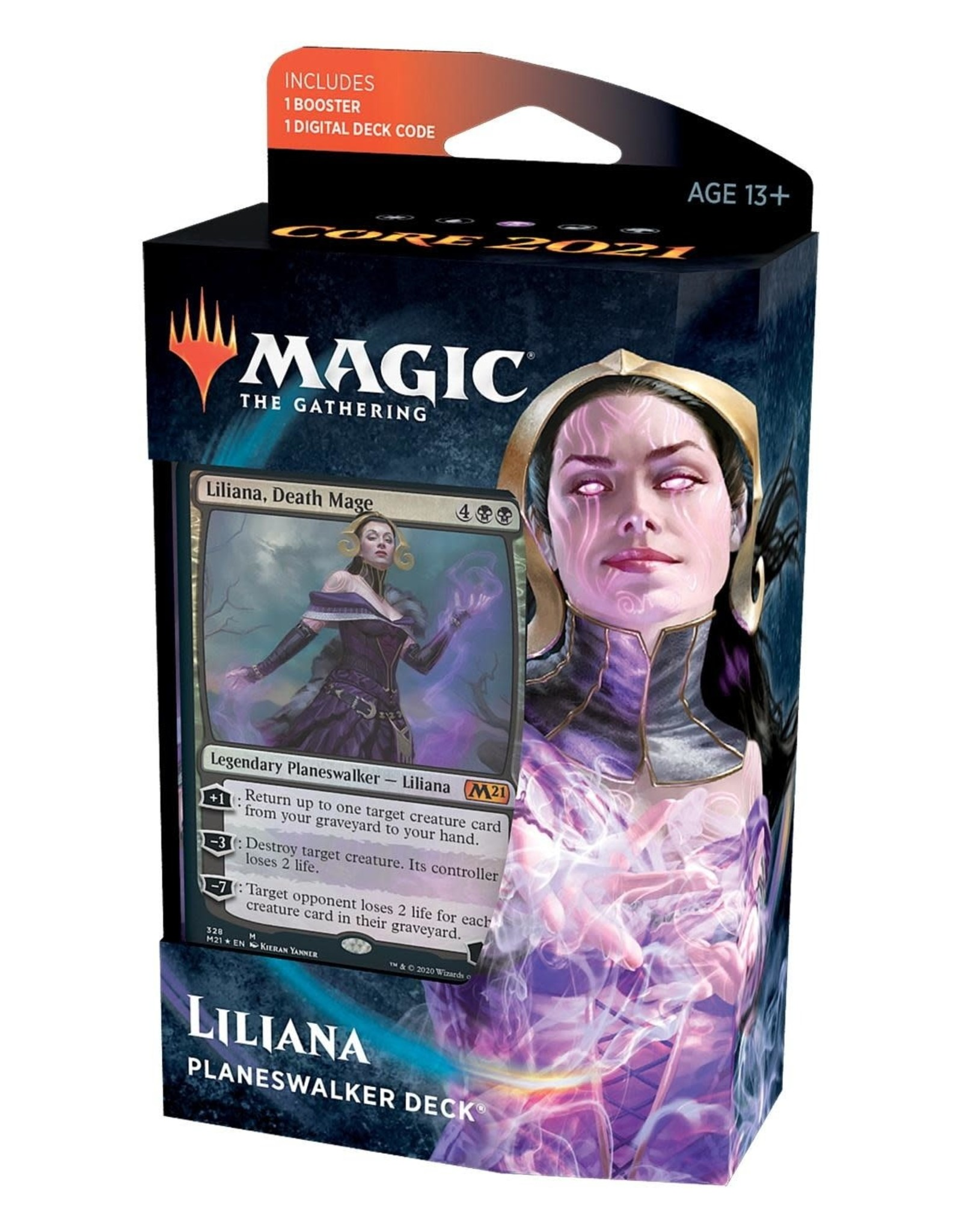 Wizards of the Coast MTG: Core 2021 Liliana Planeswalker Deck