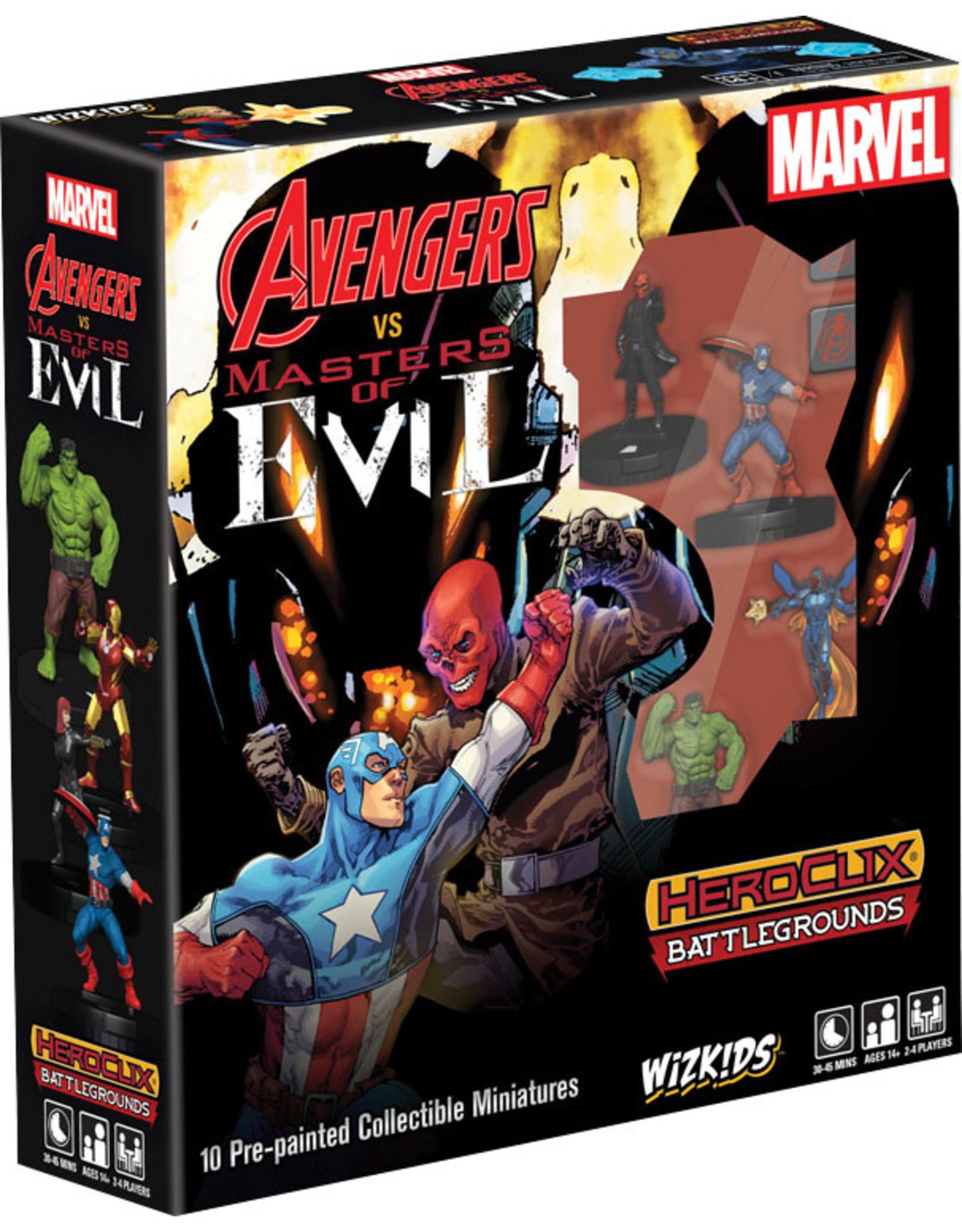 WizKids Marvel HeroClix: Battlegrounds - Avengers vs Masters of Evil