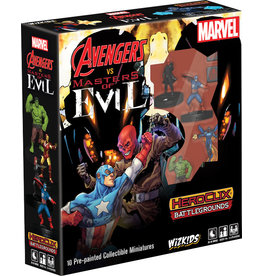 WizKids Marvel HeroClix: Battlegrounds - Avengers vs Masters of Evil
