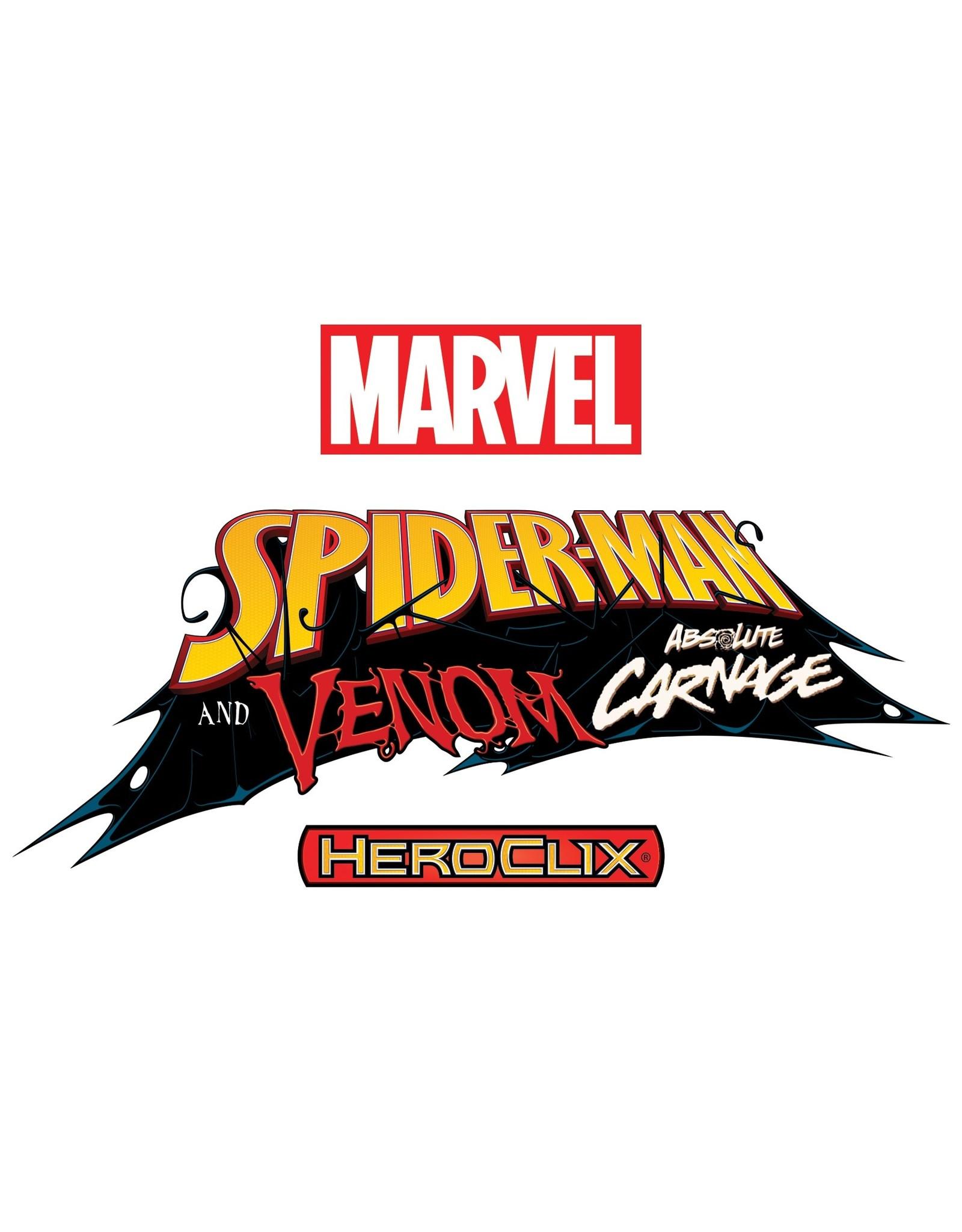 WizKids Marvel HeroClix: Spider-Man and Venom Absolute Carnage Booster Brick (10)