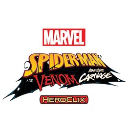 WizKids Marvel HeroClix: Spider-Man and Venom Absolute Carnage Booster Brick (10)