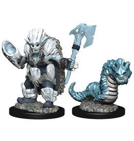 WizKids Wardlings: W4 Ice Orc & Ice Worm
