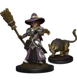 WizKids Wardlings: W3 Girl Witch & Witch`s Cat