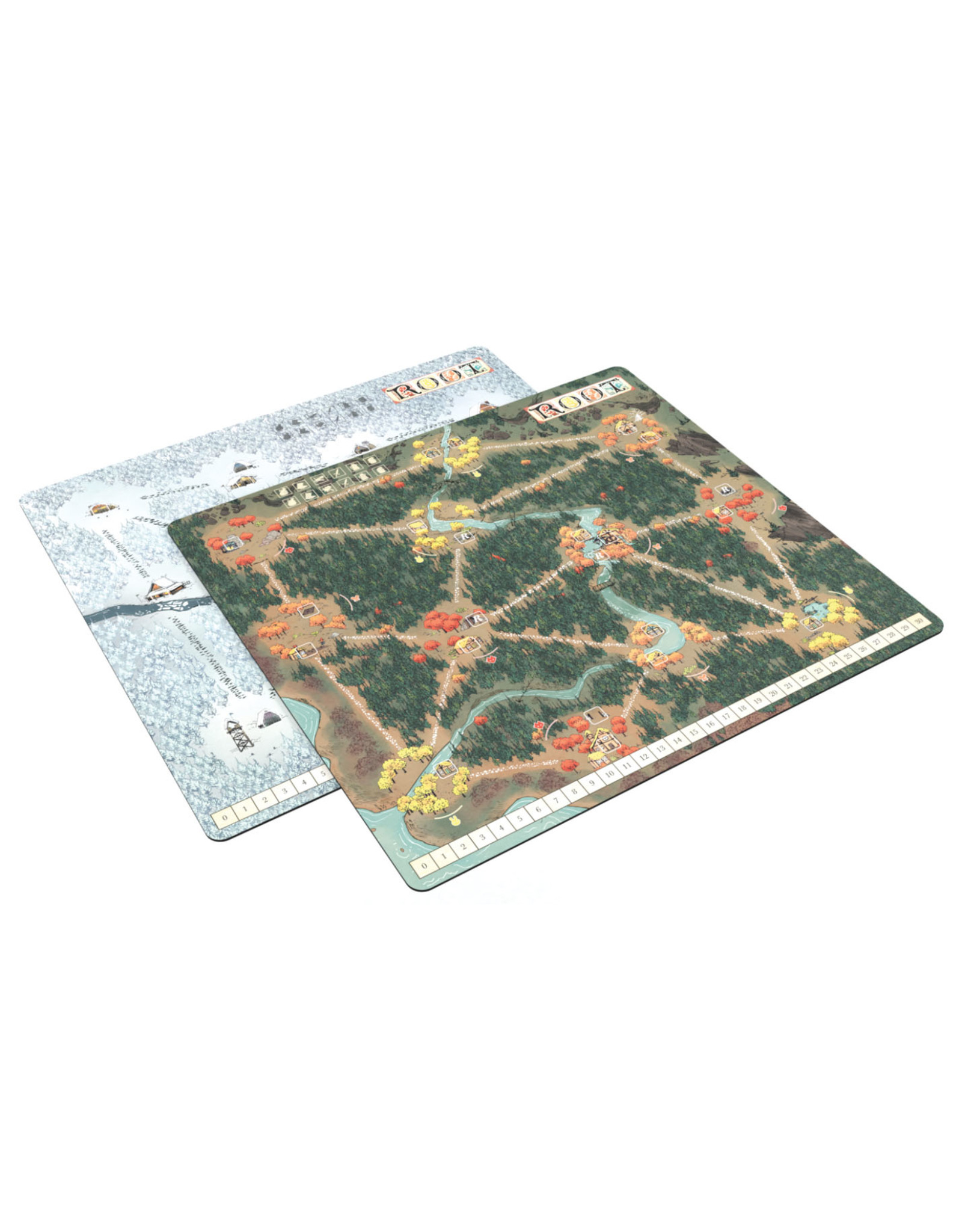 Leder Games Root: Playmat - Fall/Winter