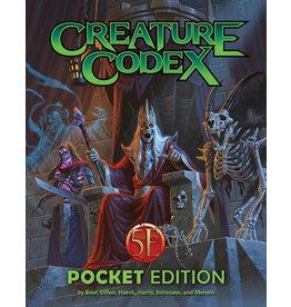 Kobold Press Dungeons and Dragons RPG: Creature Codex (Pocket Edition)