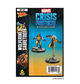 Atomic Mass Games Marvel Crisis Protocol: Wolverine and Sabertooth