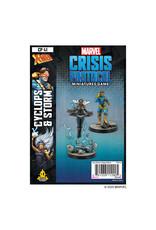 Atomic Mass Games Marvel Crisis Protocol - Cyclops and Storm