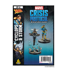 Atomic Mass Games Marvel Crisis Protocol: Cyclops and Storm