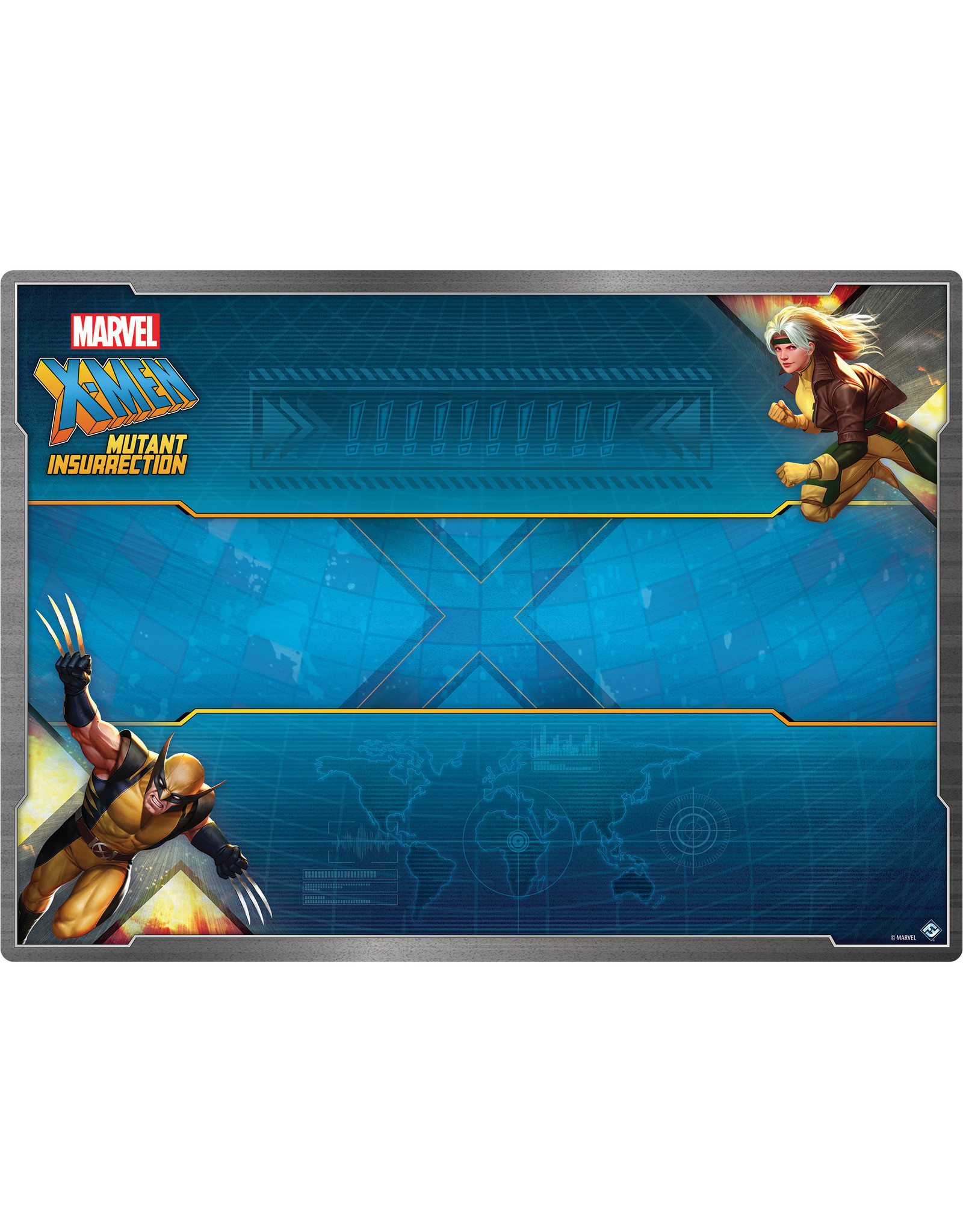 Fantasy Flight Games X-Men: Mutant Insurrection Game Mat