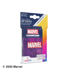 GameGenic Marvel Champions LCG: Purple Sleeves