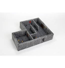 WizKids WarLock Tiles: Dungeon Tiles II Full Height Stone Walls Expansion