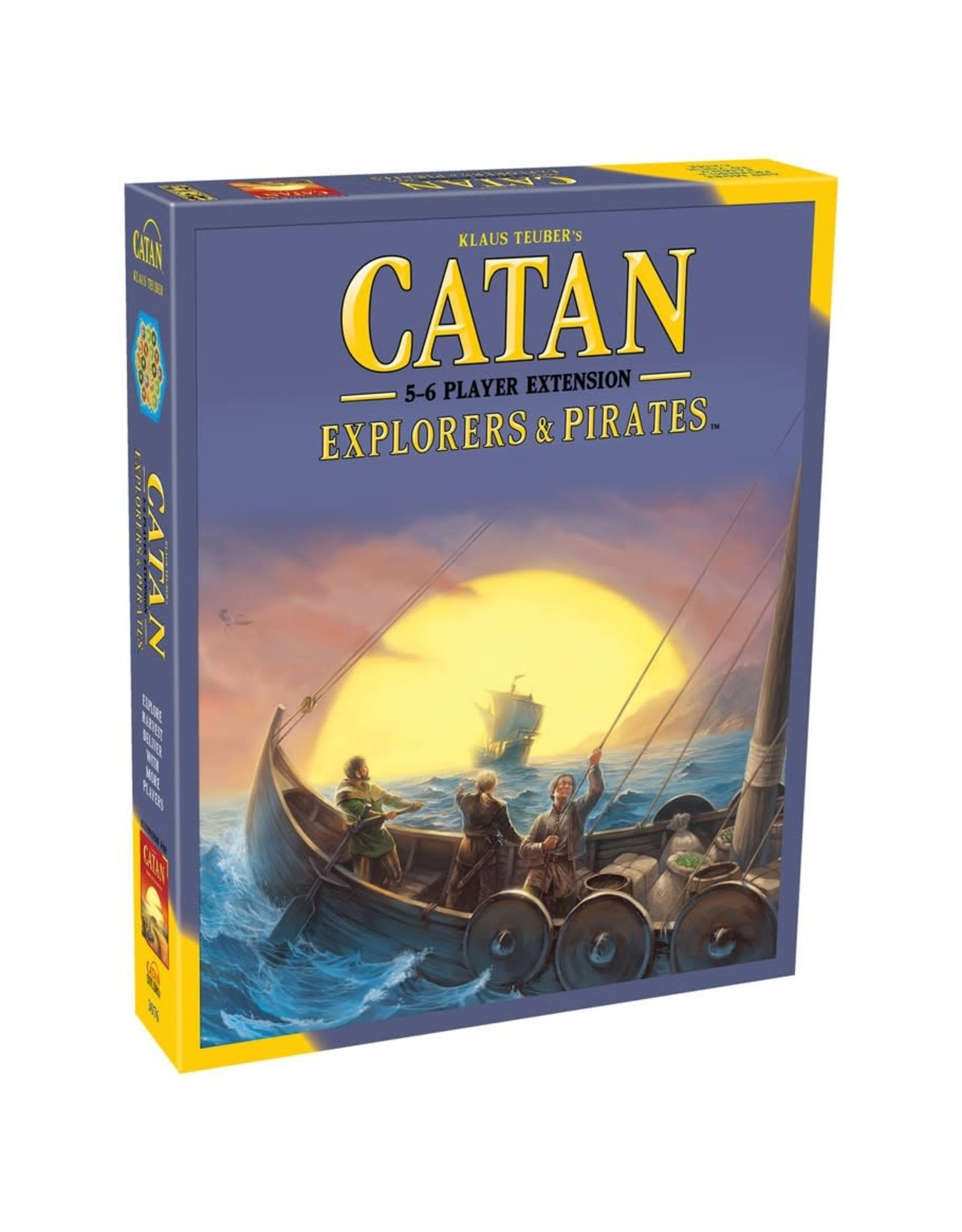 Settlers of Catan Catan Ext: Explorers & Pirates 5-6 Player Expansion