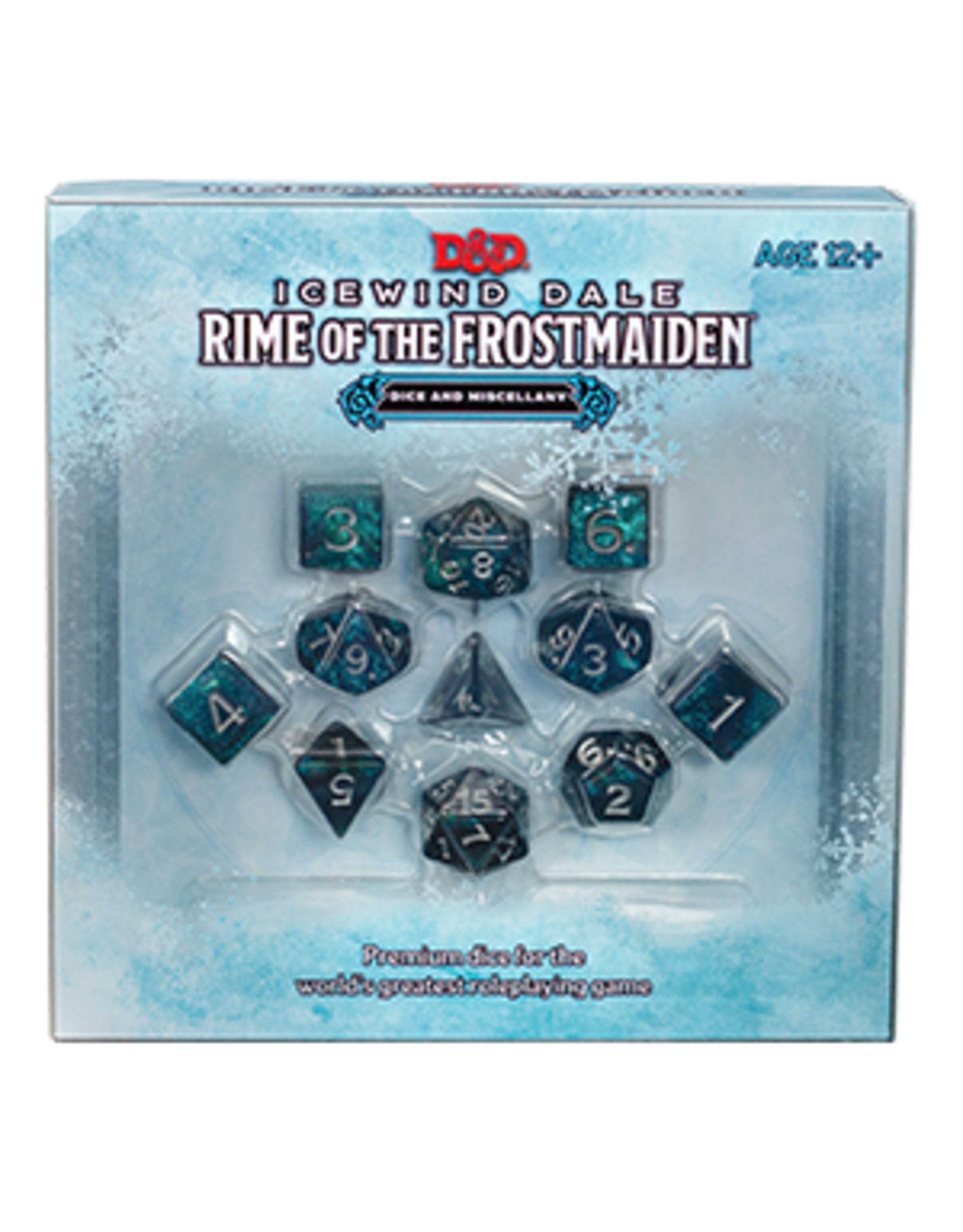 Wizards of the Coast Dungeons and Dragons RPG: Icewind Dale - Rime of the Frostmaiden Dice Set