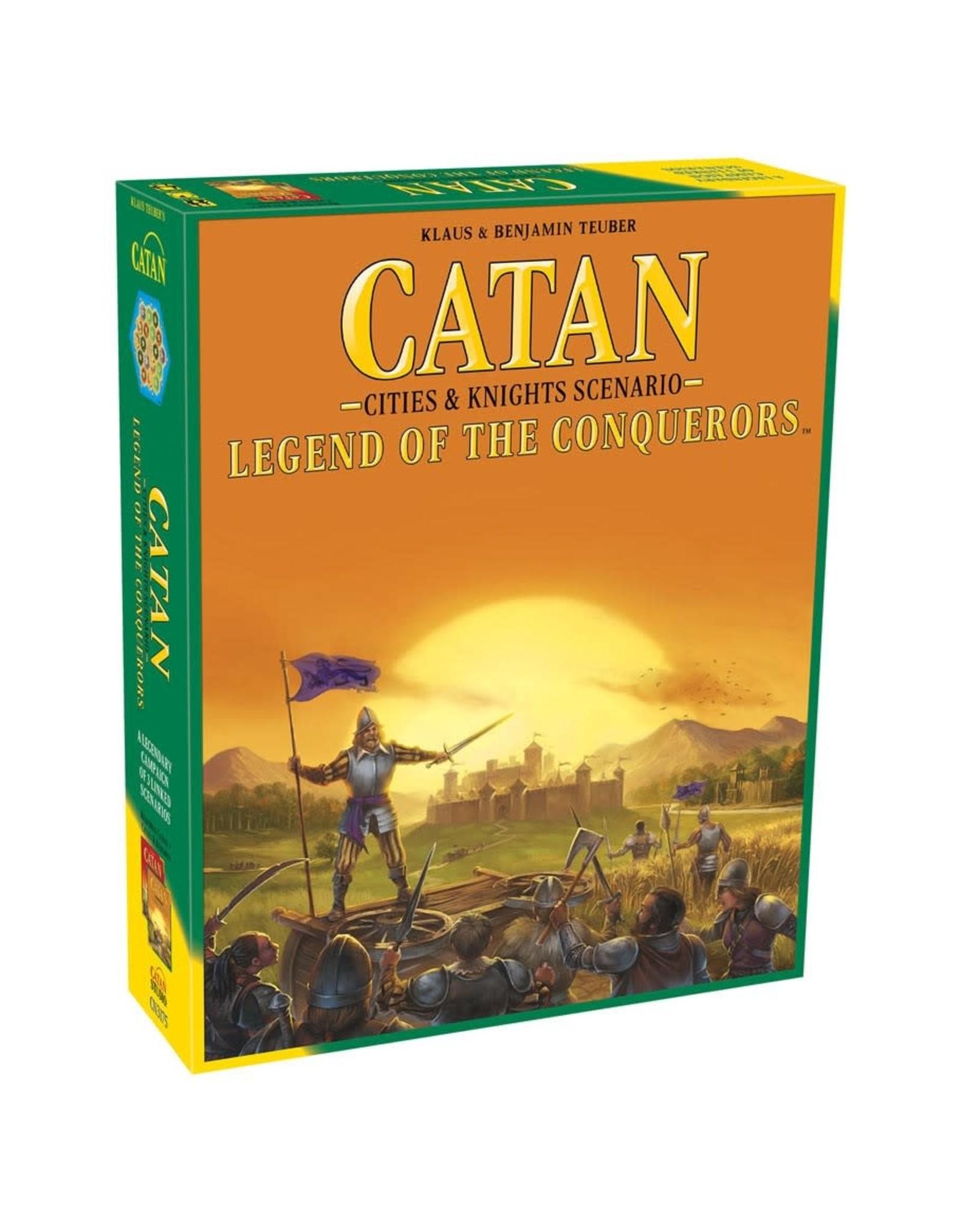 Catan Catan Scenarios:Legend of the Conquerors