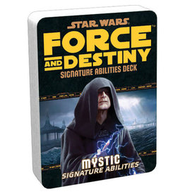 Fantasy Flight Games Star Wars: Force and Destiny: Mystic Signature Abilities Deck