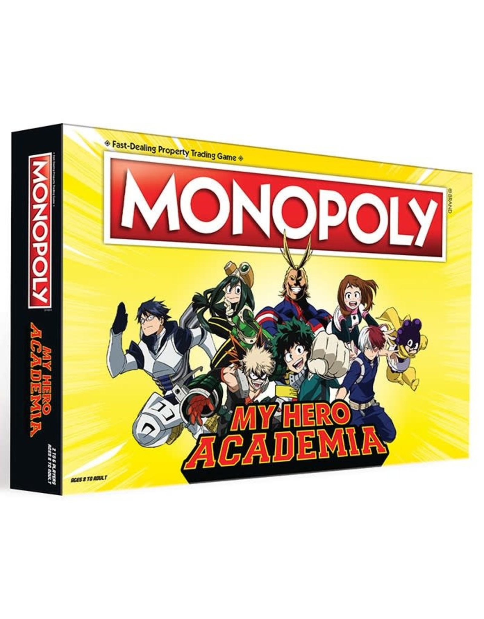 USAopoly Monopoly: My Hero Academia