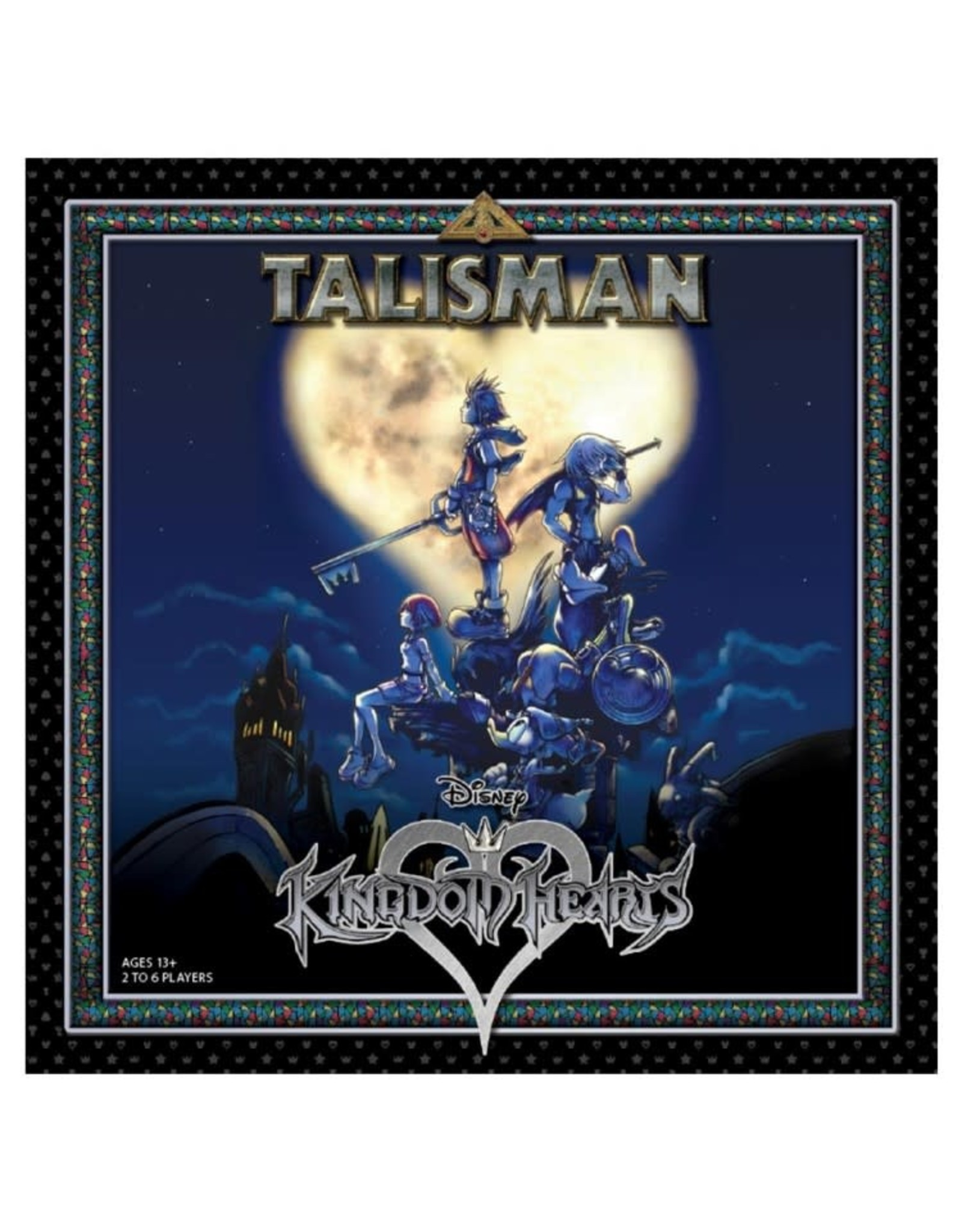 USAopoly Disney Kingdom Hearts Talisman