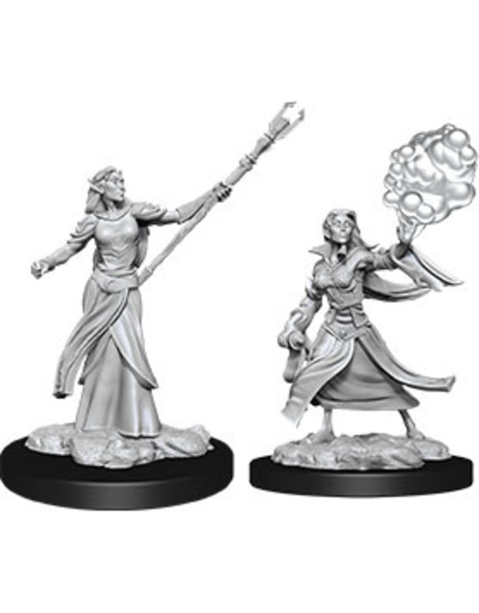 WizKids Dungeons & Dragons Nolzur`s Marvelous Unpainted Miniatures: W12 Female Elf Sorcerer