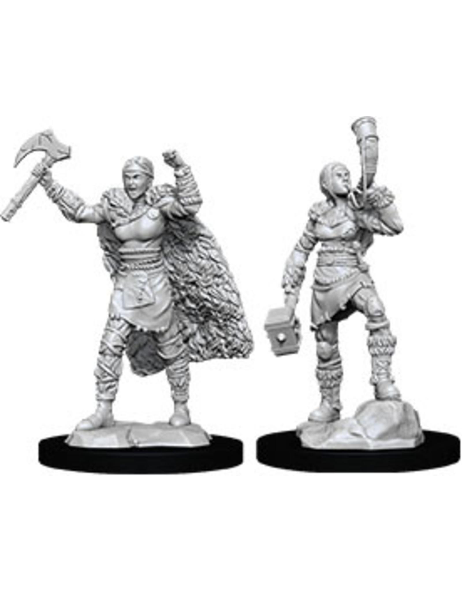 WizKids Dungeons & Dragons Nolzur`s Marvelous Unpainted Miniatures: W12 Female Human Barbarian