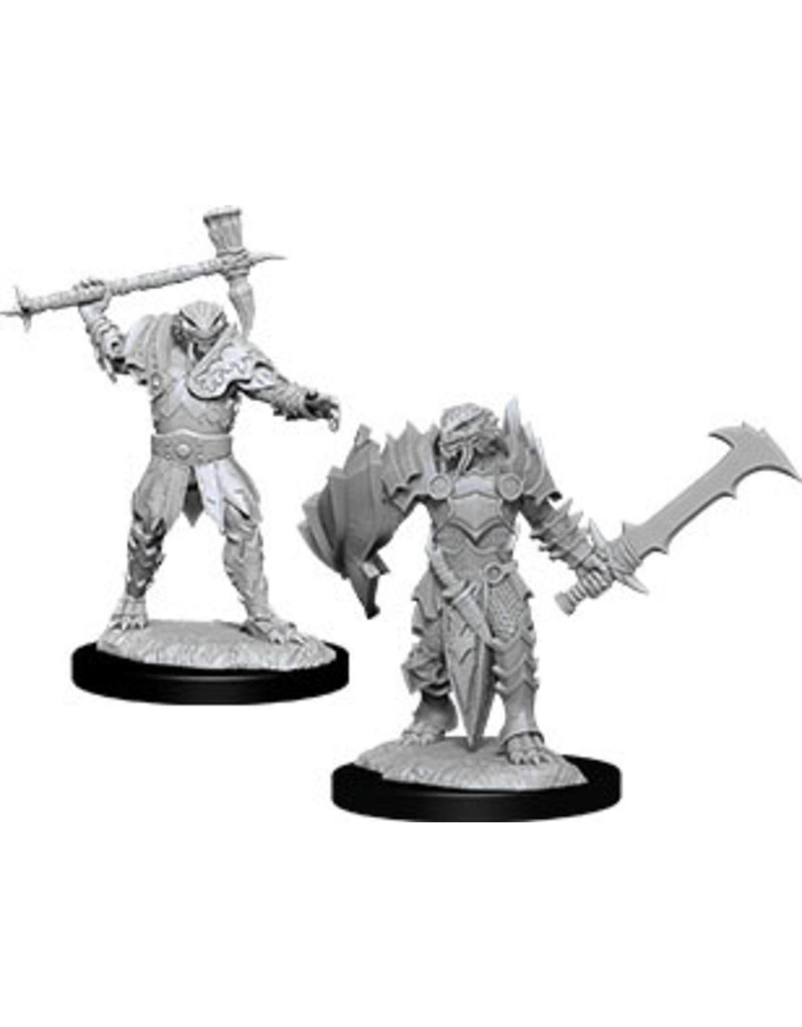 WizKids Dungeons & Dragons Nolzur`s Marvelous Unpainted Miniatures: W12 Male Dragonborn Paladin